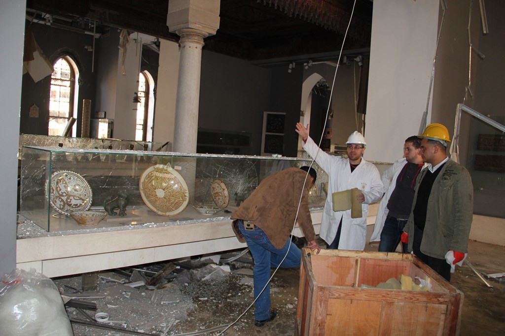 2014 Egyptian Heritage Rescue Team Bomb Blast Cairo Museum Of Islamic Art January