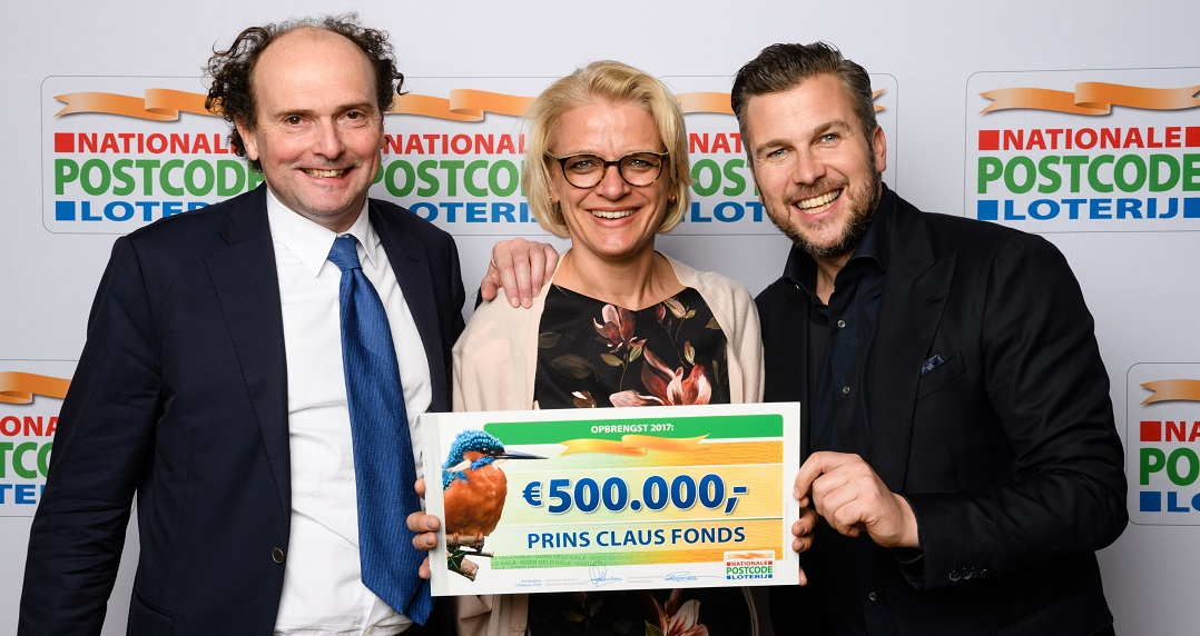 2017 Goed Geld Gala  Dutch Postcode Lottery Prinsclausfonds