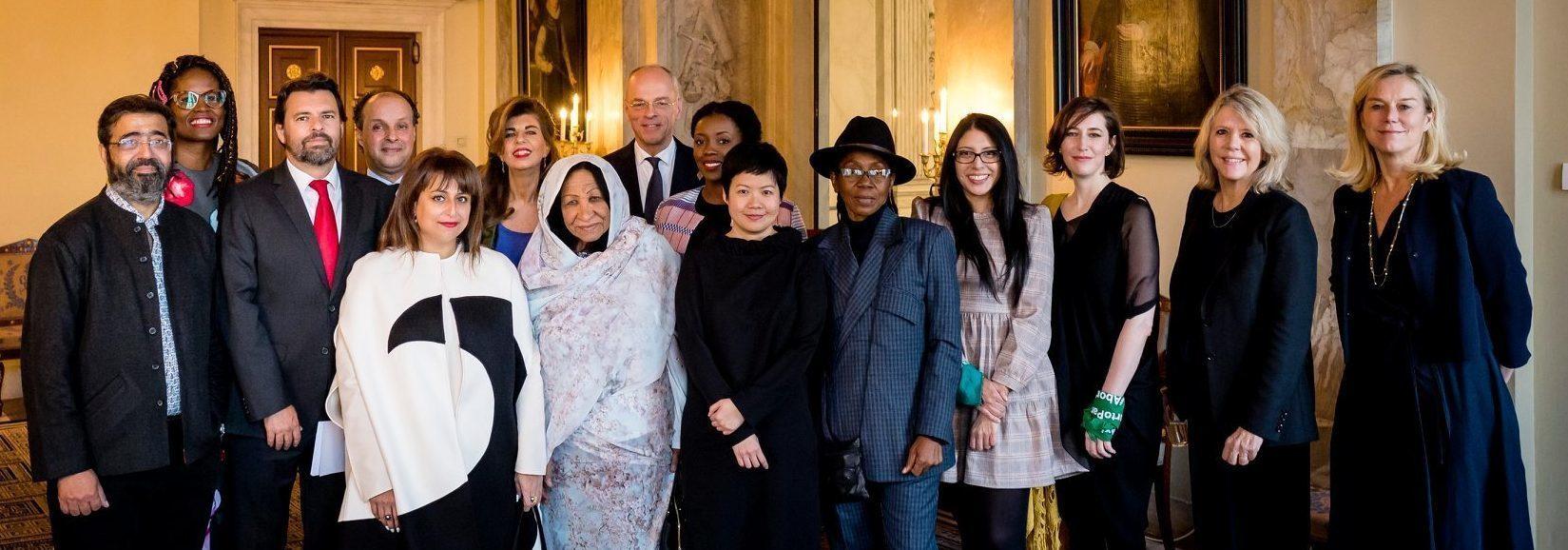 2019 President of the Senate Minister Awards Committee Laureates Royal Palace c Frank van Beek