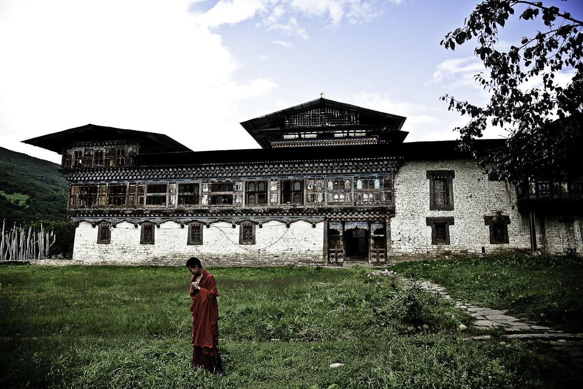 Bhutan The Wangduechhoeling Palace David Taggart