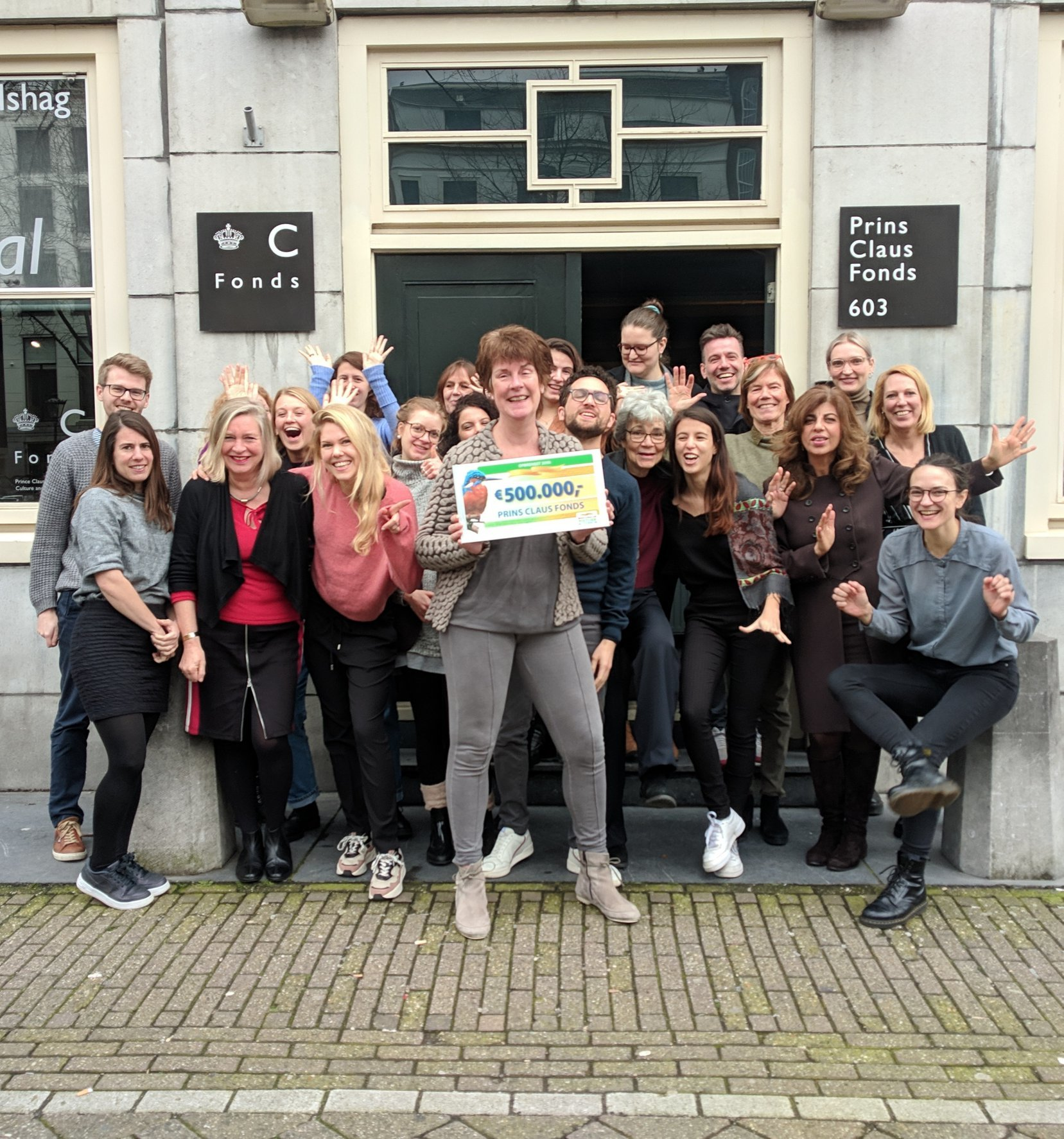 Thank you Dutch Postcode Lottery Prince Claus Fund