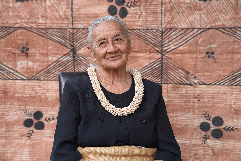 Tunakaimanu Fielakepa at Langafonua Womens Centre Nukualofa Tonga 2020 Mary Lyn Fonua