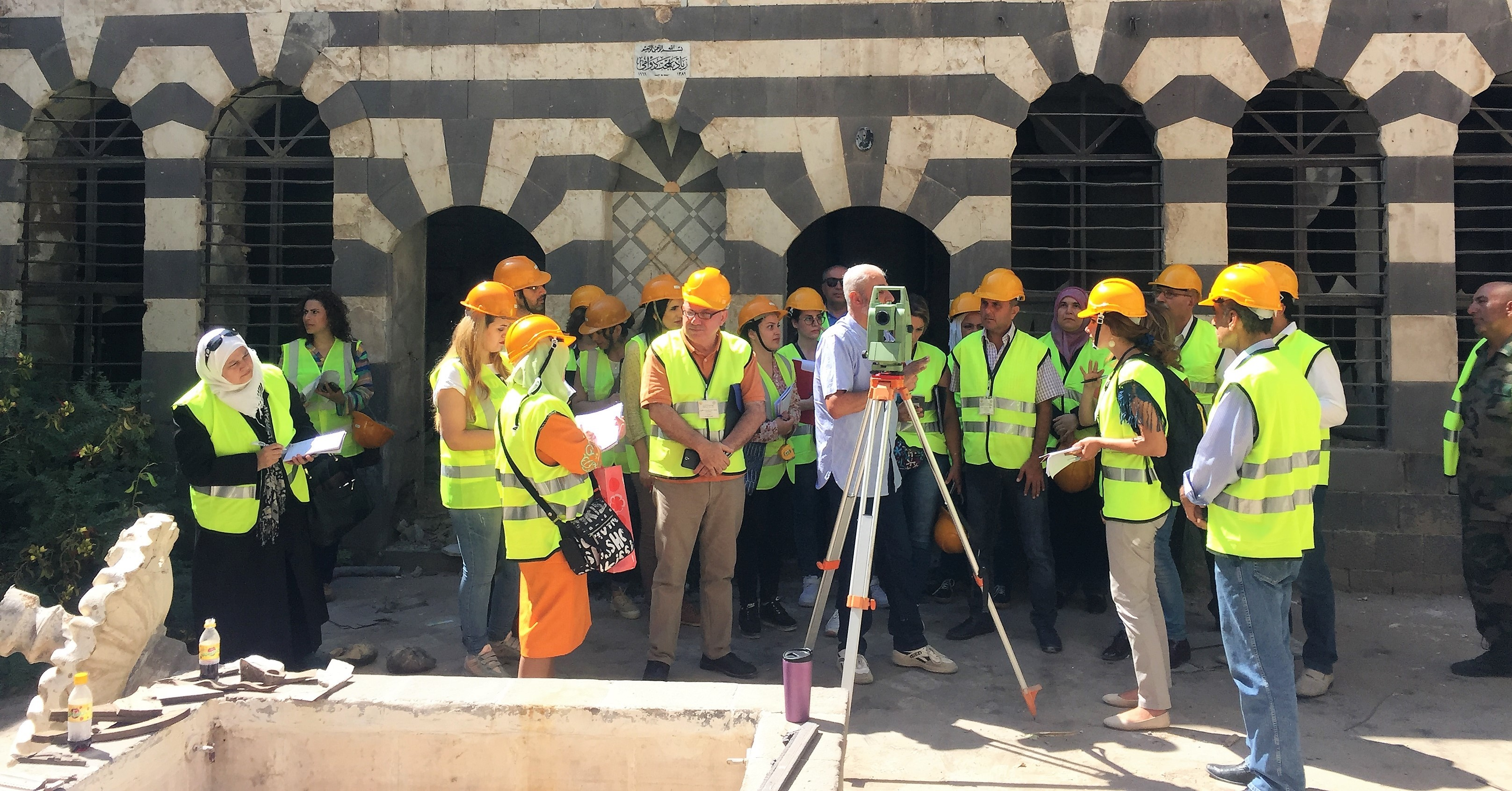 Day5 The Participants Learned Basic Skills On How To Use The Total Station Tool For Documentations2